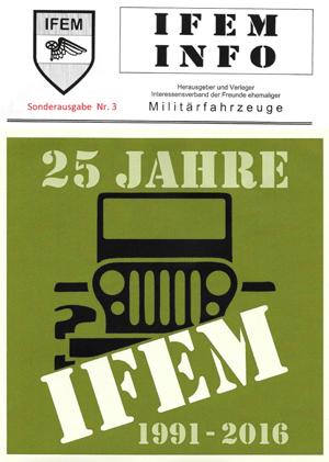 IFEM Info Sonderausgabe Nr. 3 - Geschichte des IFEM