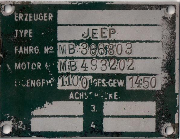 D:\Archiv Nemeth\Fzg-Gerät-Ausrüstung\Fahrzeuge\Mehrspurige Kfz\BH Fahrzeuge\Jeep\Meiner\Typenschild.jpeg